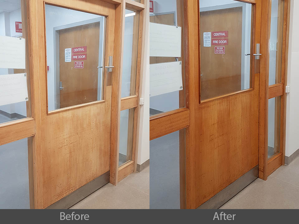 commercial door restoration Sydney