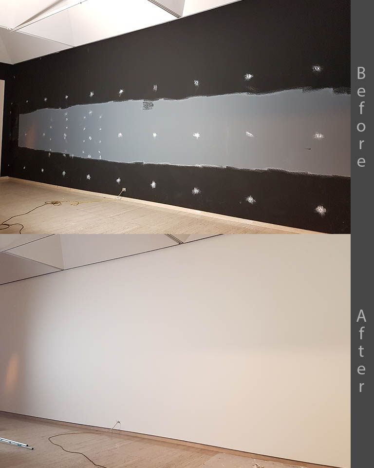 commercial wall restoration Sydney