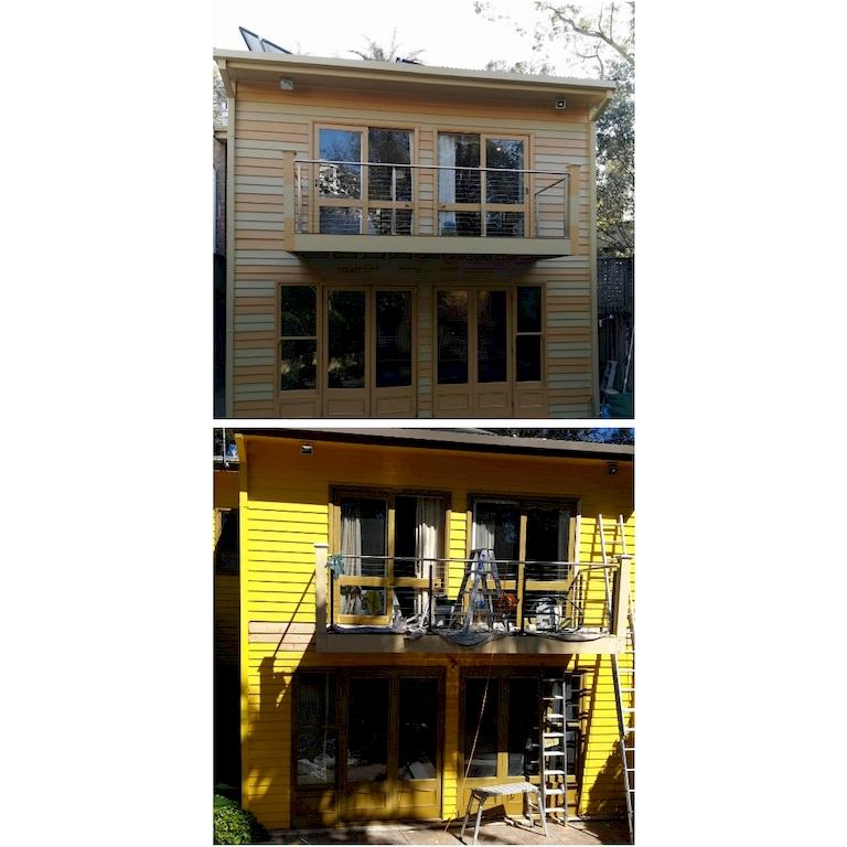 Colour house painters