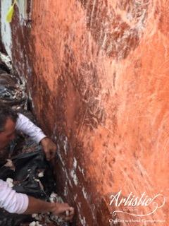 Painters Preparing Wall